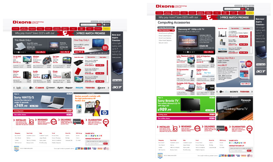 dixons electrical store: