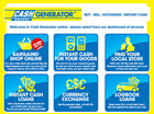 Project : Cash Generator