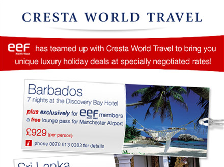Project: Cresta World Travel emails